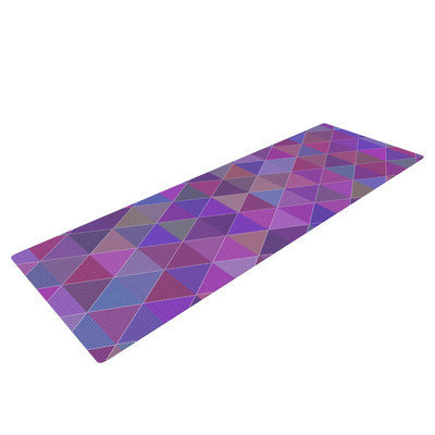 Kess Inhouse Abstract by Louise Yoga Mat