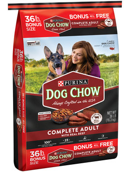 PURINA DOG CHOW COMPLETE ADULT with Real Beef Dog Food
