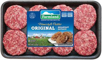 Farmland® Original Breakfast Sausage Homestyle Patties 8 ct Tray