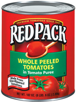 RedPack Whole Peeled In Tomato Puree Tomatoes 102 Oz Can