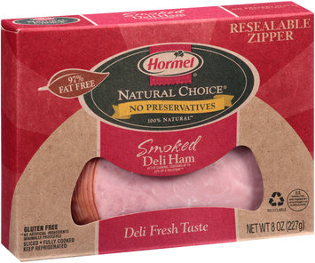 Hormel® Natural Choice® Smoked Sliced Deli Ham