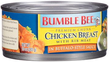 Bumble Bee® Premium Chunk Chicken Breast with Rib Meat in Buffalo-Style Sauce 10 oz. Can