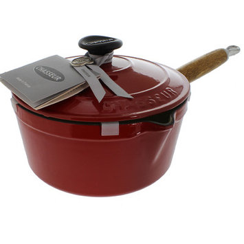 Chasseur 2.5-qt. Saucepan with Lid Color: Red