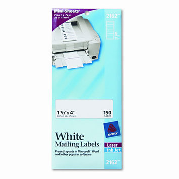 Avery Mini-Sheets Laser/Inkjet White Mailing Labels