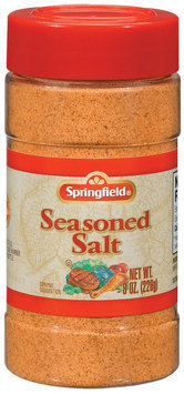 Springfield Seasoned Salt 8 Oz Shaker