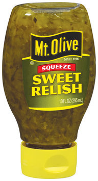 Mt. Olive Sweet Relish 10 Fl Oz Squeeze Bottle
