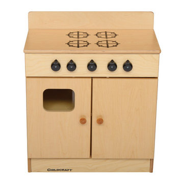Childcraft Traditional 4-Burner Play Stove