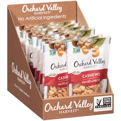 Orchard Valley Harvest® Cashews Halves & Pieces