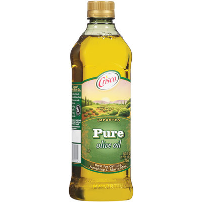Crisco Pure Imported Olive Oil 25.3 Fl Oz Plastic Bottle