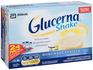 Glucerna® Homemade Vanilla Shake 24-8 fl. oz. Bottles