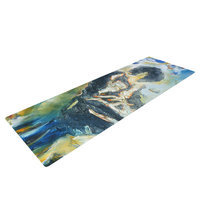 Kess Inhouse Riders on the Storm by Josh Serafin Piano Player Yoga Mat