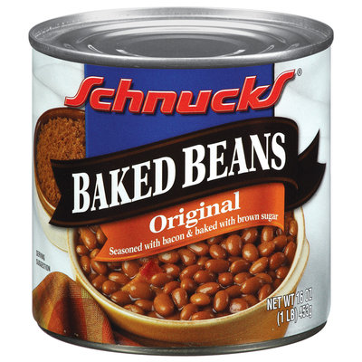 Schnucks Baked Original Beans 1 Lb Can