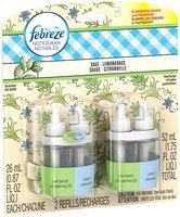 Noticeables Febreze NOTICEables™ Sage Lemongrass Air Freshener (2 Count, 1.75 fl oz)