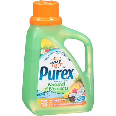 Purex® Dirt Lift Action™ Natural Elements® Tropical Splash® 50 fl.oz. Plastic Jug