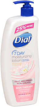 Dial® 7 Day Skin Therapy Moisturizing Lotion