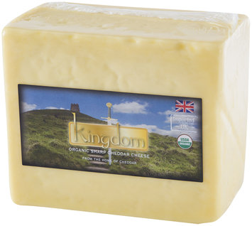 Kingdom Organic Sharp Cheddar Cheese Wrapper