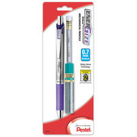Pentel 0.7mm EnerGize Automatic Pencil With Lead & Erasers