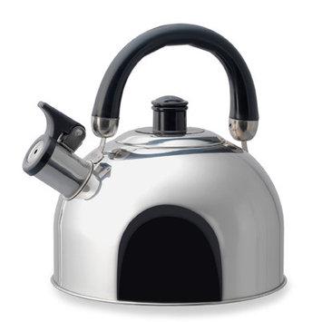 Kamenstein 5073172 3 Quart Stainless Steel Whistle Tea Kettle Mirror Polish