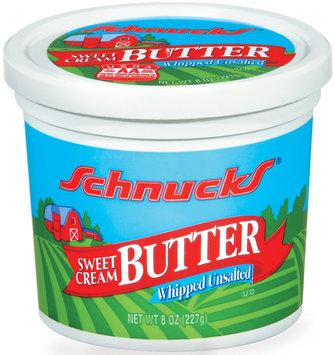 Schnucks Sweet Cream Whipped Unsalted Butter 8 Oz Plastic Tub