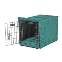 Bowsers Luxury Crate Cover Color: Emerald, Size: XX-Large (33