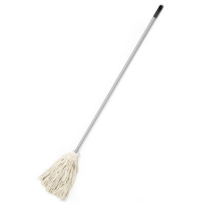 Cequent Laitner Company Laitner Brush Company #20 Cotton Deck Mop With 48 Grey Hand
