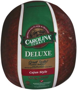 Carolina Turkey Cajun Style Deluxe Lower Sodium Turkey Breast