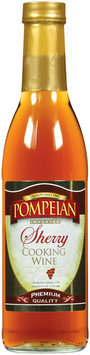 Pompeian Sherry Imported Cooking Wine 12.7 Oz Glass Bottle