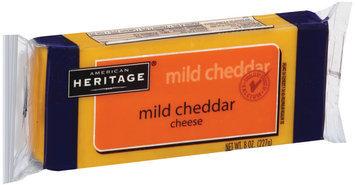 American Heritage Mild Cheddar Cheese 8 oz Brick