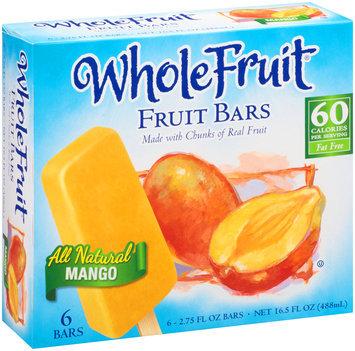 Whole Fruit® All Natural Mango Fruit Bars 6 ct Box