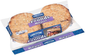 Cobblestone® Multigrain Flatbread Rounds 12 oz. Bag