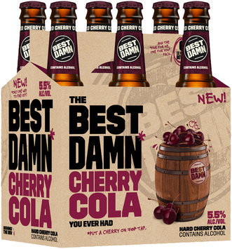 Best Damn Cherry Cola 6-12 fl. oz. Glass Bottles