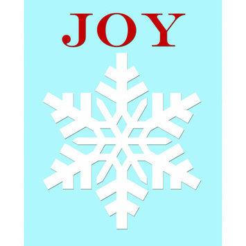 Secretly Designed Snowflake Joy Art Print