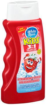 White Rain® Kids 3 in 1 Strawberry Splash Hair & Body Wash 12 fl oz. Bottle