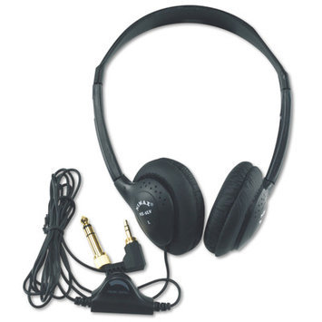 Amplivox Sound Systems AmpliVox SL1006 Deluxe Headphone - Wired Connectivity - Stereo - Over-the-head