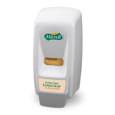 Micrell Wall Mountable Series Soap Dispenser in Dove Gray