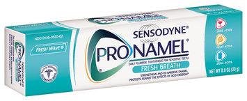 Sensodyne® Pronamel® Fresh Breath Fresh Wave® Toothpaste 0.8 oz. Tube