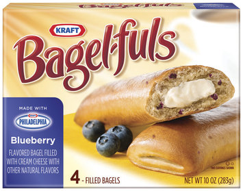 Bagel-Fuls Blueberry 4 Ct Bagels 10 Oz Box