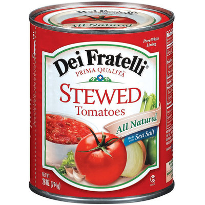 Dei Fratelli Stewed Tomatoes 28 Oz Can