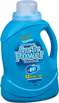 Arctic Power® Ultra Waterfall Fresh® + Oxi Liquid Detergent 1.47L Jug