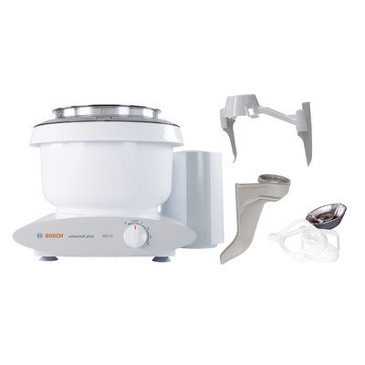 Bosch Universal Plus Stand Mixer with Bowl Scraper and Cake Paddles