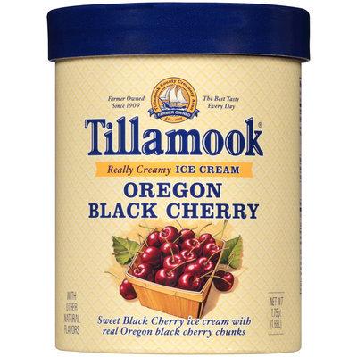 Tillamook® Oregon Black Cherry Ice Cream 1.75 qt. Tub