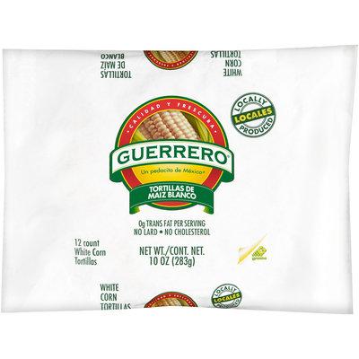 Guerrero® White Corn Tortillas 12 ct Bag