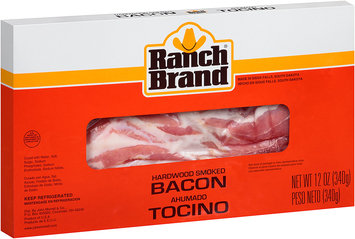 Ranch Brand® Hardwood Smoked Bacon 12 oz. Package