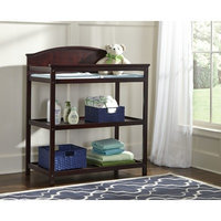 Westwood Design Harper Changing Table With Pad - Chocolate Mist