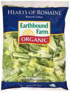 earthbound farm® organic hearts of romaine lettuce