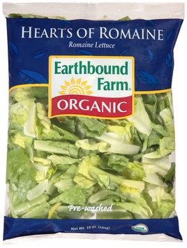 Earthbound Farm® Organic Hearts of Romaine Lettuce 10 oz. Bag