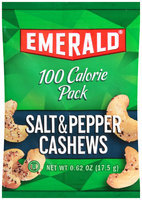 Emerald® 100 Calorie Pack Salt & Pepper Cashews