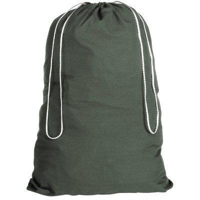 Whitmor 6353-1191-GRN Cotton Laundry Bag-Duffel Green