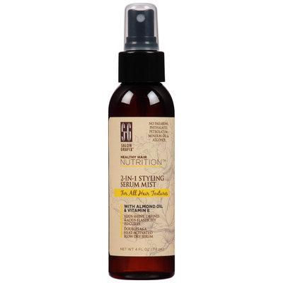 Salon Grafix® Healthy Hair Nutrition™ 2-in-1 Styling Serum Mist for All Hair Textures 4 fl. oz. Pump
