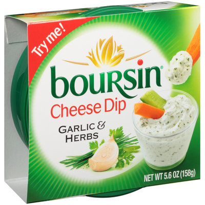 Boursin® Garlic & Herbs Cheese Dip 5.6 oz. Tub